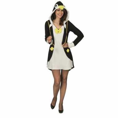 Dierenverkleedkleding pinguin jurk dames tip