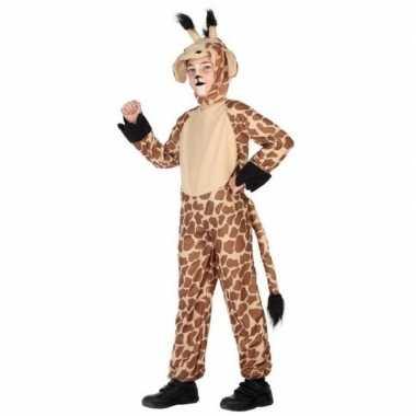 Dierenverkleedkleding verkleed verkleedkleding giraffe kind tip