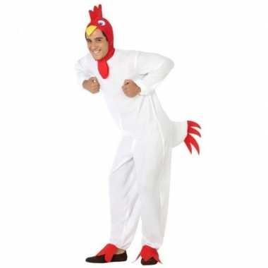 Dierenverkleedkleding verkleed verkleedkleding kip/haan volwassenen