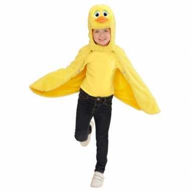 Dierenverkleedkledingken eenden cape peuters tip