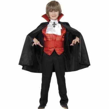 Dracula verkleedkleding kind tip