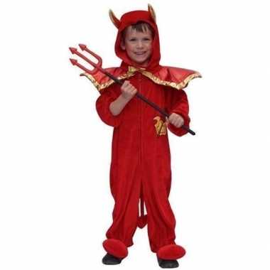 Duiveltje carnaval verkleedkleding kind tip
