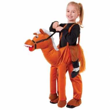 Feest paard verkleedkleding kind tip