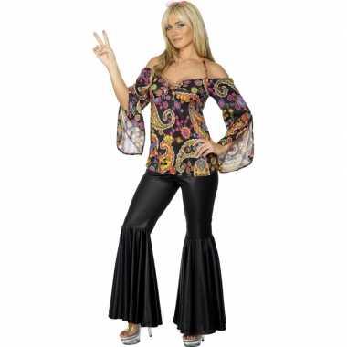 Flower power verkleedkleding dames tip