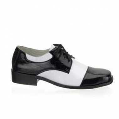 Gangster verkleedkleding schoenen tip