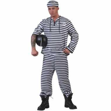 Gevangenen verkleedkleding pet tip