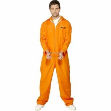Gevangenis verkleedkleding volwassenen tip