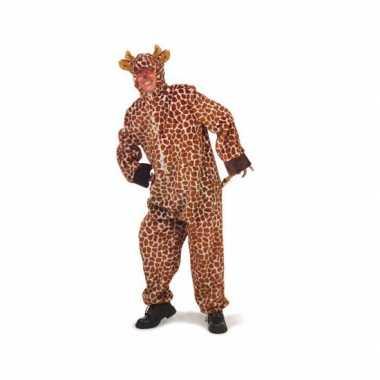 Giraffe verkleedkleding dames heren tip