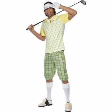Golf speler verkleedkleding heren tip
