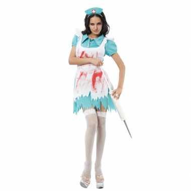 Griezelige verpleegster verkleedkleding tip