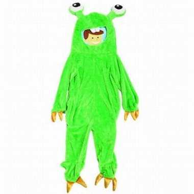 Groen monster verkleedkleding kind tip