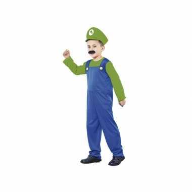 Groene Super Loodgieter verkleedkleding tip