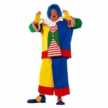 Grote maat clowns verkleedkleding volwassenen tip