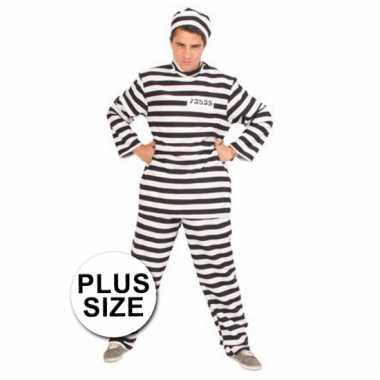 Grote maten gevangene verkleedkleding tip
