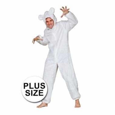 Grote maten ijsbeer verkleed verkleedkleding tip