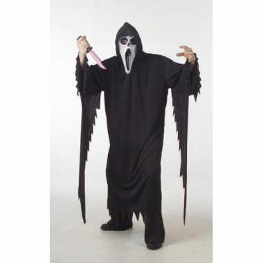 Halloween grote maat verkleedkleding Scream tip