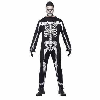 Halloween skelet verkleedkleding volwassenen tip