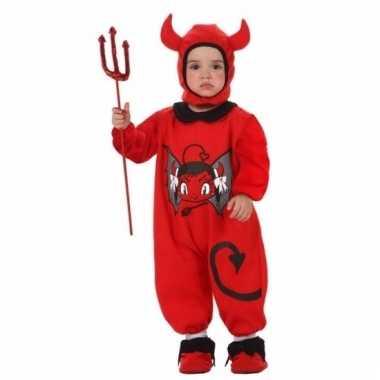 Halloween verkleedkleding duivel baby tip