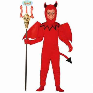 Halloween verkleedkleding duivel kind tip