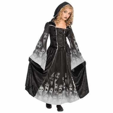 Halloween verkleedkleding Gothic kinder jurk tip