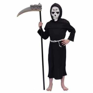 Halloween verkleedkleding Magere Hein kind tip