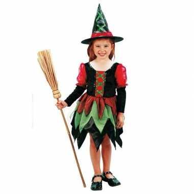 Heksen verkleedkleding meiden tip