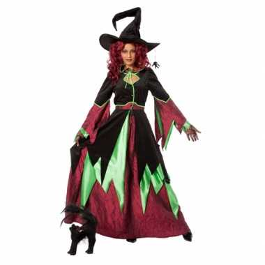Heksen verkleedkleding vrouwen tip