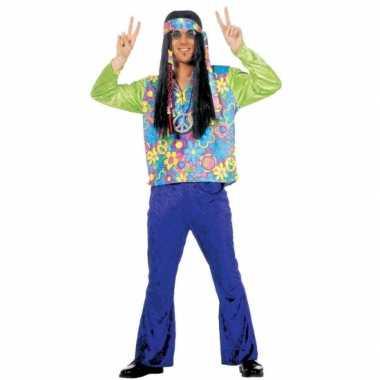 Hippie sixties verkleedkleding heren tip