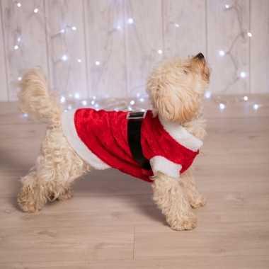 Hondenverkleedkleding kerstman tip