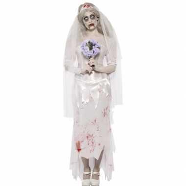 Horror bruid verkleedkleding tip