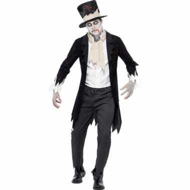 Horror bruidegom verkleedkleding tip