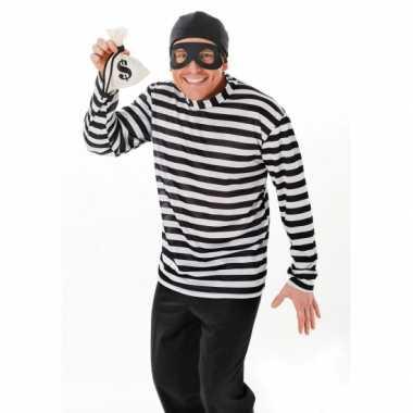 Inbreker carnavals verkleedkleding tip