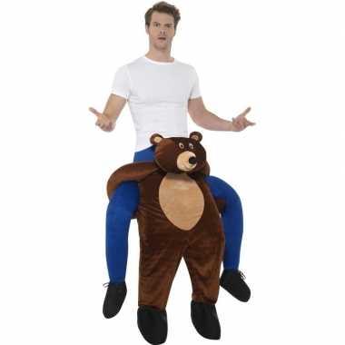 Instap dierenverkleedkleding beer volwassenen tip