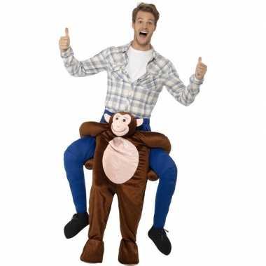 Instap dierenverkleedkleding verkleedkleding aap volwassenen tip