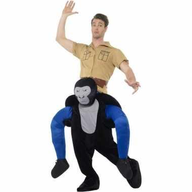 Instap dierenverkleedkleding verkleedkleding gorilla volwassenen tip
