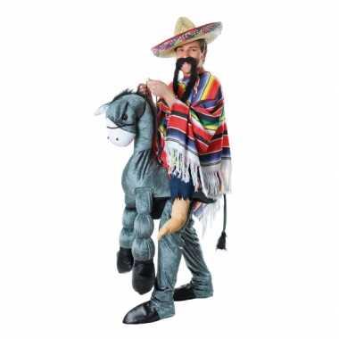Instap verkleedkleding Mexicaan ezel tip