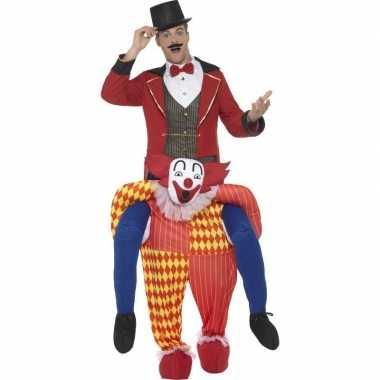 Instapverkleedkleding circus clown volwassenen tip