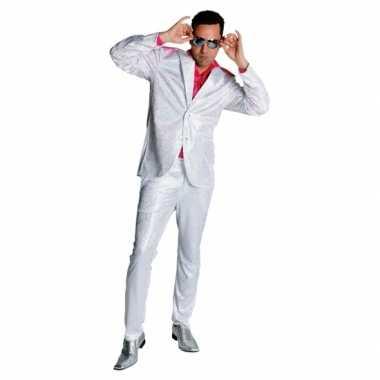 Jaren 70 glitter verkleedkleding heren tip
