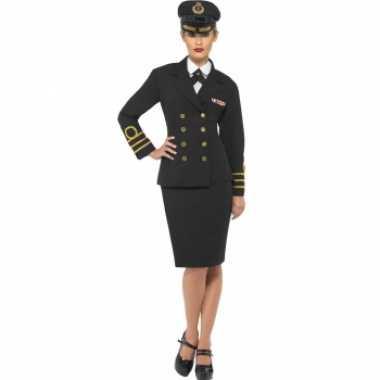 Kapitein mantelverkleedkledingje dames tip