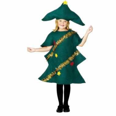 Kerstboom verkleedkleding kind tip