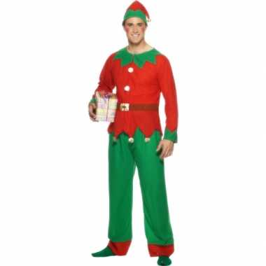 Kerstelf verkleedkleding mannen tip