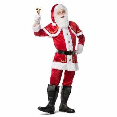 Kerstman verkleedkleding heren tip