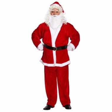 Kerstmannen verkleedkleding xxl heren tip