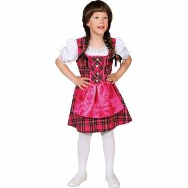 Kind Tiroler verkleedkleding meisjes tip