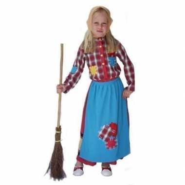 Kinder Carnavalsverkleedkleding heks tip