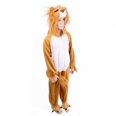 Kinder Carnavalsverkleedkleding leeuw tip