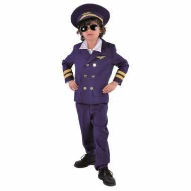 Kinder Carnavalsverkleedkleding piloot tip