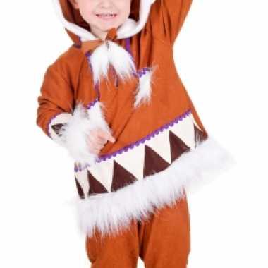 Kinder eskimo verkleedkledings tip