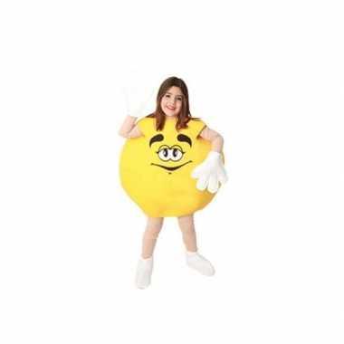 Kinder snoep verkleedkledingken geel tip