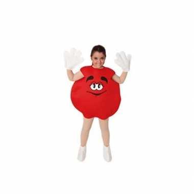 Kinder snoep verkleedkledingken rood tip